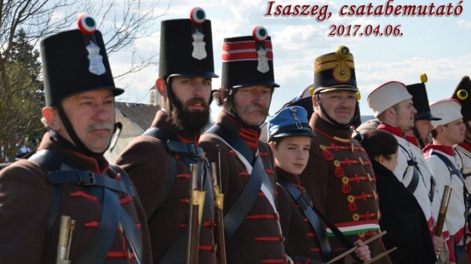 Isaszegi csatabemutató 2017 - Budai 2. Honvédzászlóalj