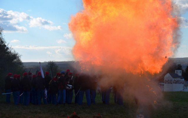 Isaszegi csatabemutató 2017.