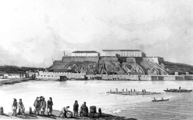 Péterváradi erőd 1848-ban