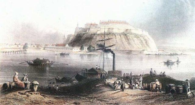 Péterváradi erőd 1849-ben