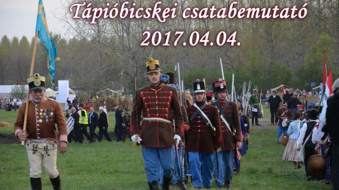 Tápióbicskei csatabemutató 2017. - Budai 2. Honvédzászlóalj
