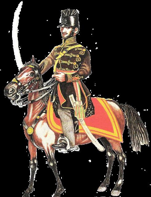 Honvéd törzstiszt 1848.