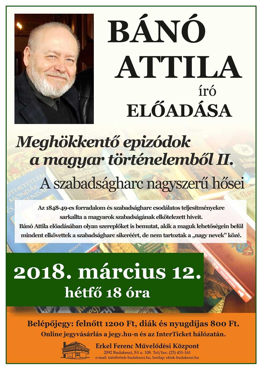 Bánó Attila előadása