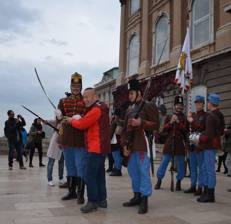 Budavár - díszjárőr - Budai 2. Honvédzászlóalj