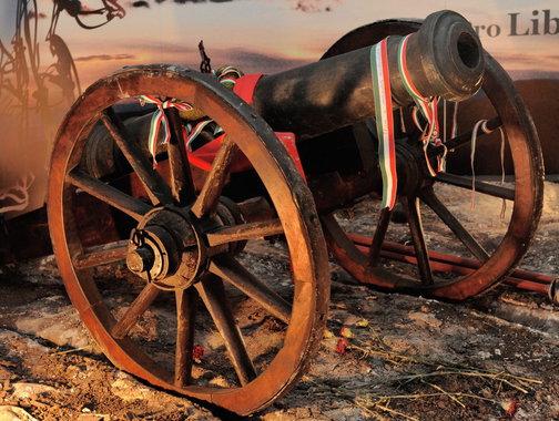Hatfontos ágyú 1848