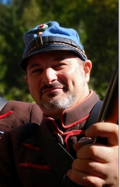 Bánóczi Péter honvéd hagyományőrzőként