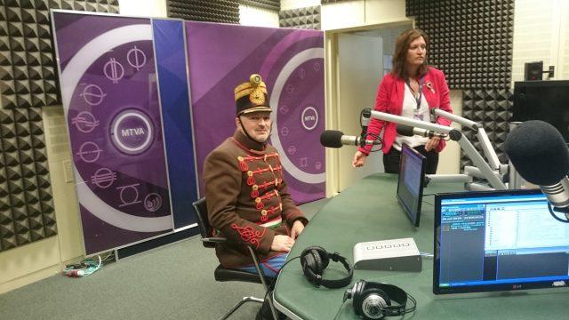 Kossuth Rádió riport - Berlinger Gábor hagyományőrző honvéd hadnagy