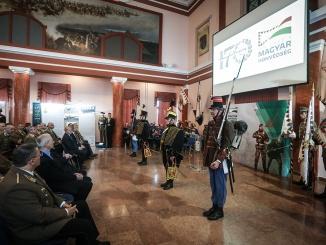 170 éves a magyar honvédség megnyitó ünnepség