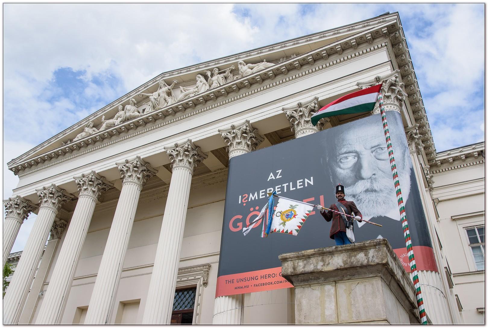 Görgei - Nemzeti Múzeum - Budai 2. Honvédzászlóalj