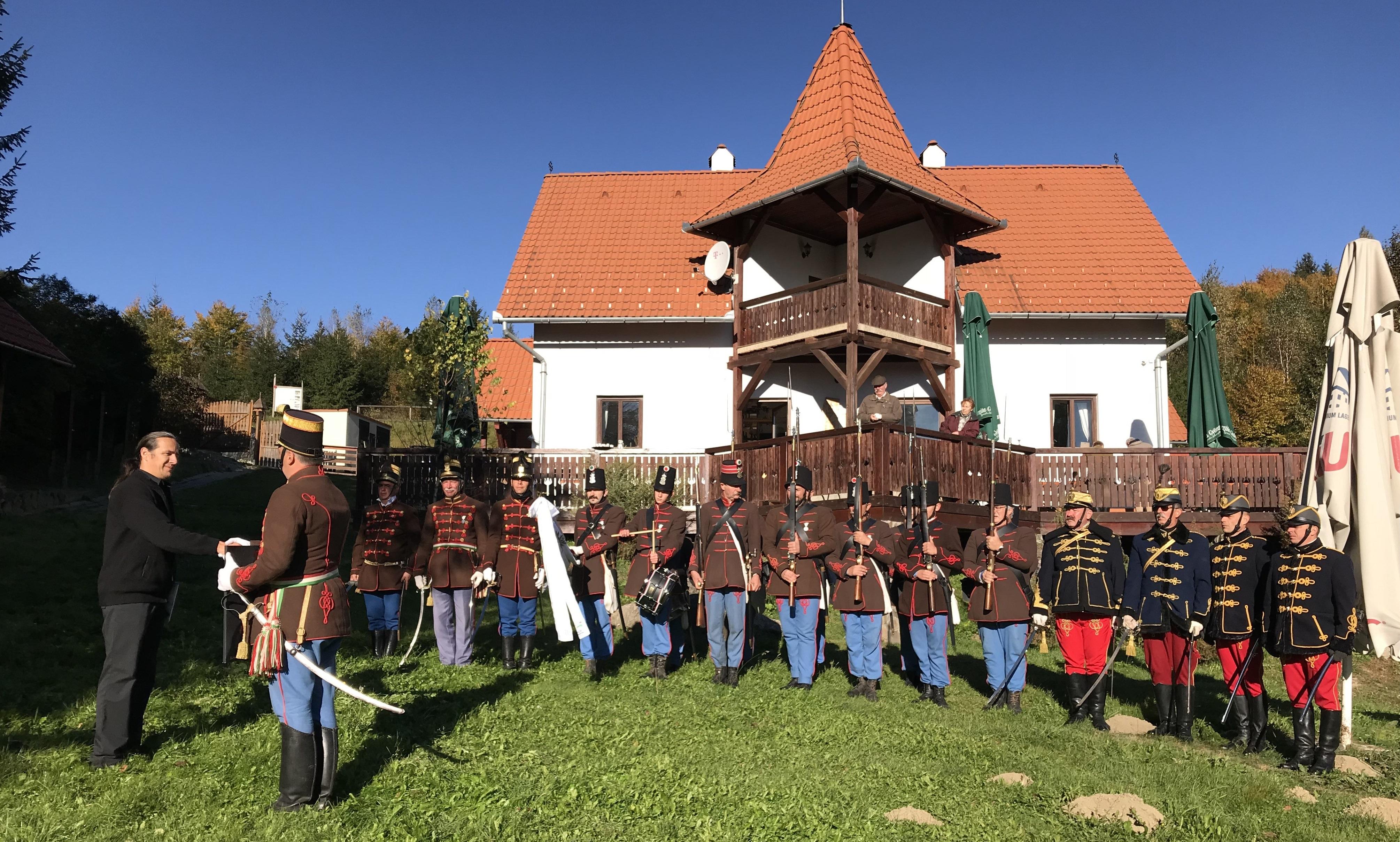 Nyergestetői Történelmi Kávéház - Budai 2. Honvédzászlóalj