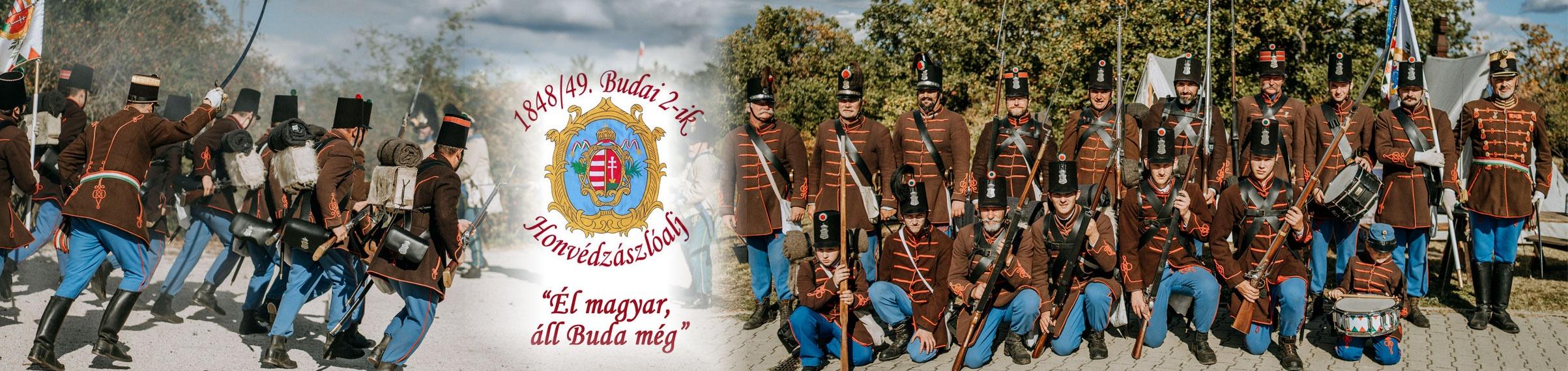 1848/49. Budai 2-ik Honvédzászlóalj és 1-ső Hatfontos üteg
